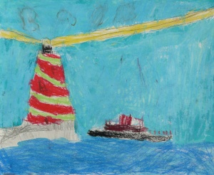 Ship and Lighthouse