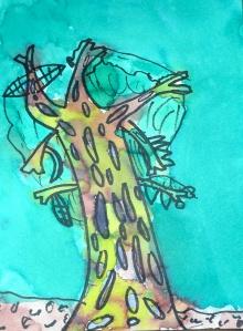 spooky tree