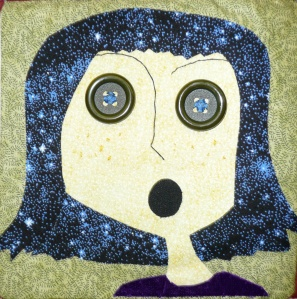 Wide-eyed Coraline